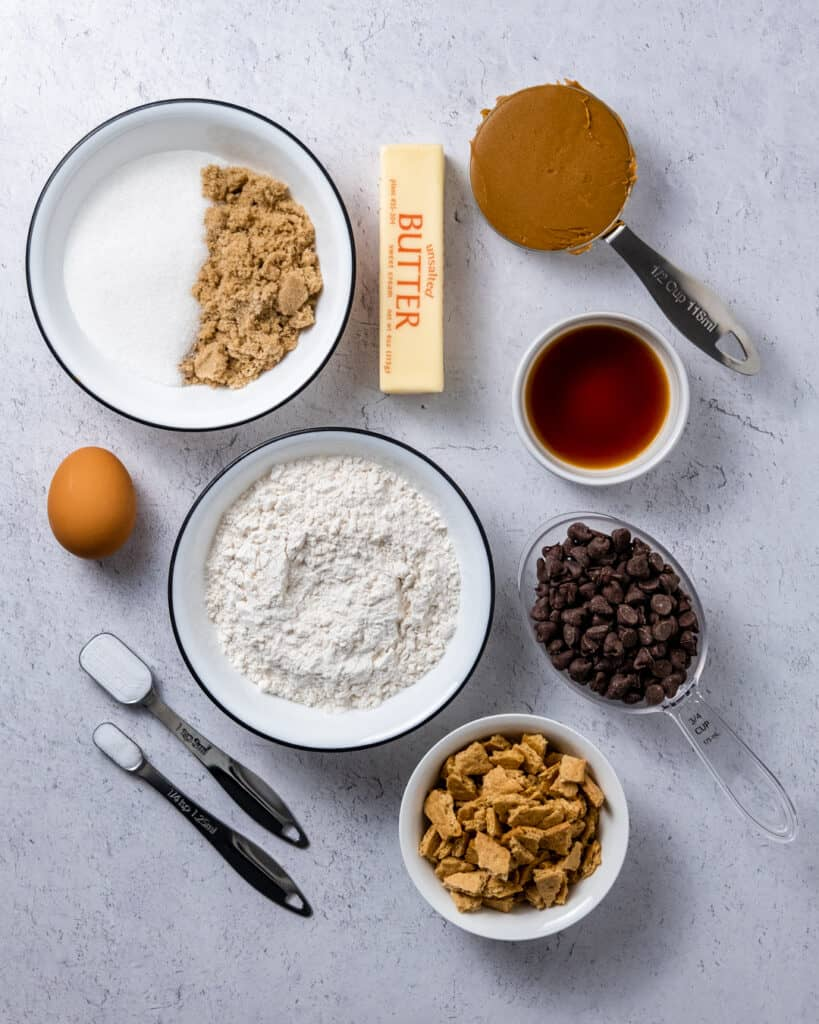 cookie butter cookie ingredients