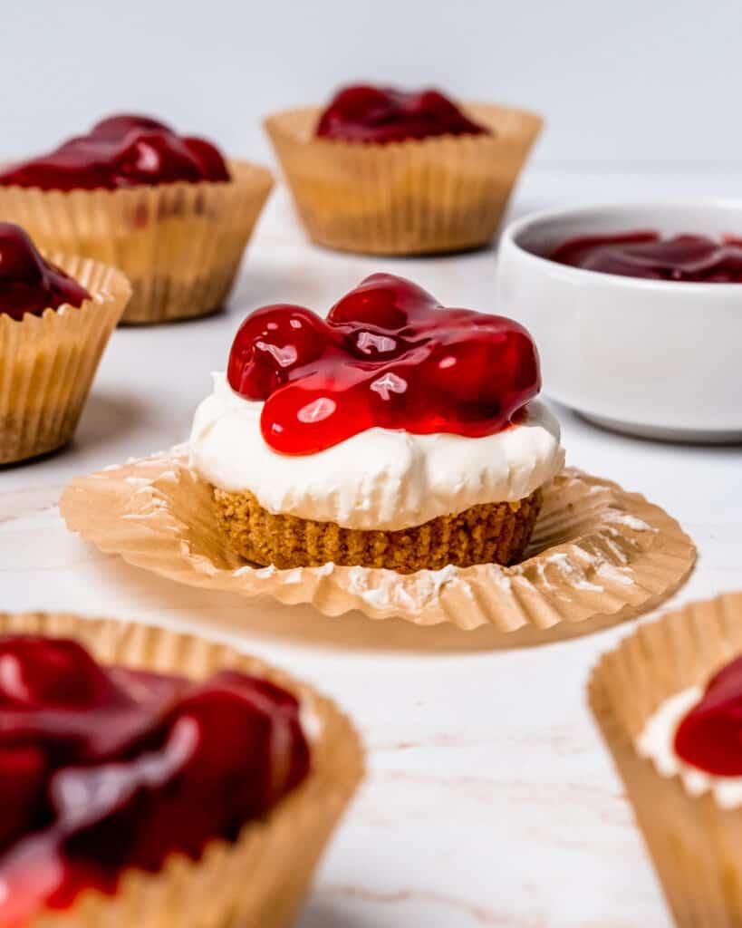 no bake cheesecake bites