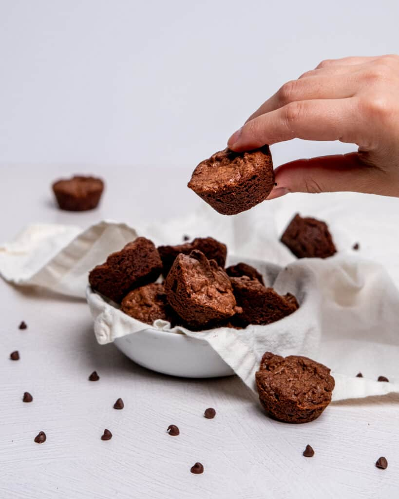 fudge brownie little bites