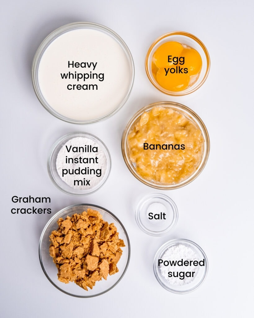 banana cream pie ice cream ingredients